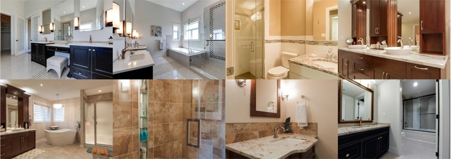 5 Inspirational Bathroom Renovations in Edmonton