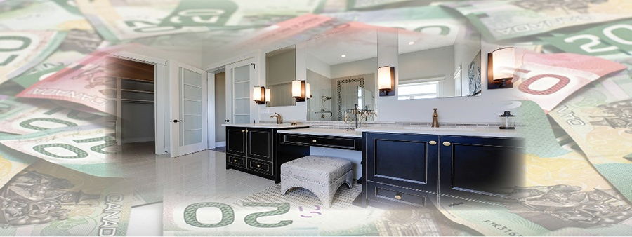 How to Get the Best ROI on your Edmonton Bathroom Renovation